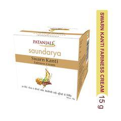 Patanjali Saundarya Swarna Kanti Fairness Cream 15 gm