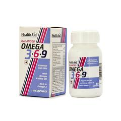 HealthAid Balanced Omega 3.6.9 Capsules 60's