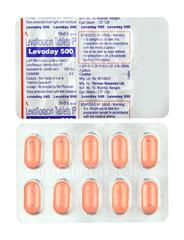 Levoday 500mg Tablet 10'S