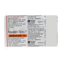 Rozucor 10mg Tablet 15'S