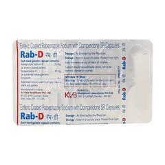 RAB D Capsule 10'S
