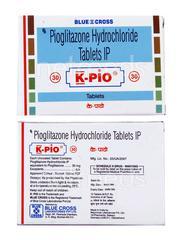 K Pio 30mg Tablet 15'S