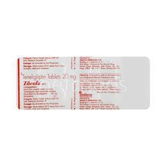 Zilenta 20mg Tablet 10'S