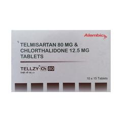 Tellzy CH 80mg Tablet 15'S