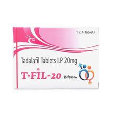 T Fil 20mg Tablet 4'S