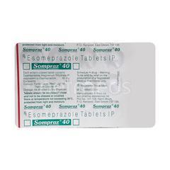 Sompraz 40mg Tablet 15'S