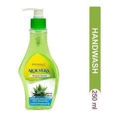 Patanjali Hand Wash - Aloevera 250 ml