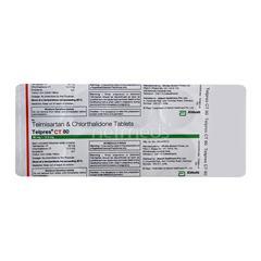 Telpres CT 80/12.5mg Tablet 10'S