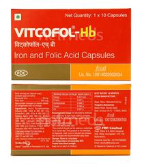 Vitcofol HB Capsule 10'S