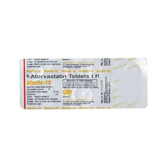 Atorite 10mg Tablet 10'S