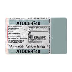 Atocer 40mg Tablet 10'S