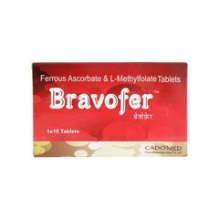 Bravofer Tablet 10'S