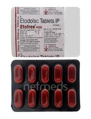 Etofree 400mg Tablet 10'S