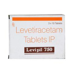 Levipil 750mg Tablet 10'S