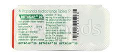 Betacap 20mg Tablet 10'S