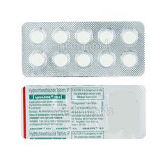 Aquazide 12.5mg Tablet 10'S