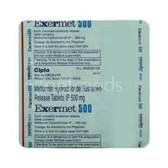 Exermet 500mg Tablet 15'S