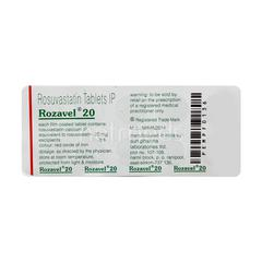 Rozavel 20mg Tablet 10'S