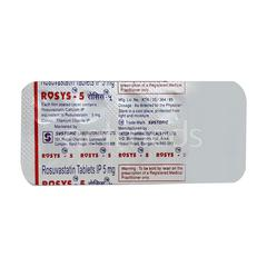 Rosys 5mg Tablet 10'S