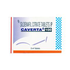 Caverta 100mg Tablet 4'S