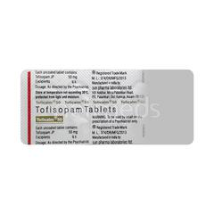 Toficalm 50mg Tablet 10'S