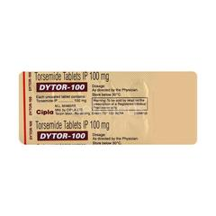 Dytor 100mg Tablet 10'S