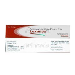 Lexanox Paste 5gm