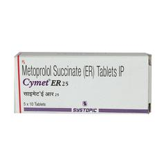 Cymet ER 25mg Tablet 10'S