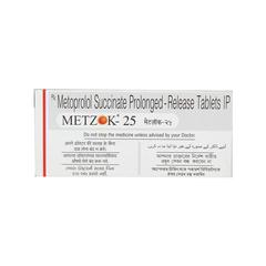 Metzok 25mg Tablet 10'S