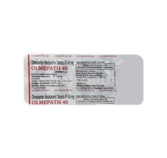 Olmepath 40mg Tablet 10'S