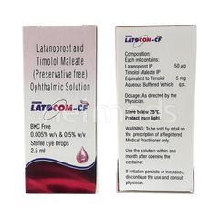 Latocom CF Eye Drops 2.5ml