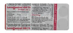 Levogastrol OD 75 Tablet 10'S