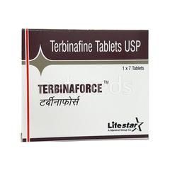 Terbinaforce 250mg Tablet 7'S