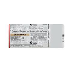 Olmetor H 20mg Tablet 10'S