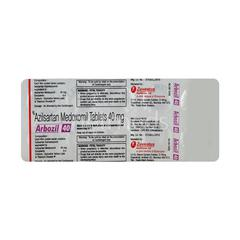 Arbozil 40mg Tablet 10'S