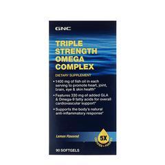 GNC Triple Strength Omega Complex Softgel 90's