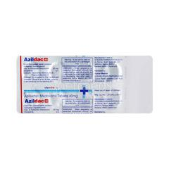 Azildac 40mg Tablet 10'S