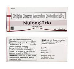 Nulong Trio 20mg Tablet 10'S