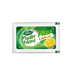 Dabur Pudin Hara Lemon Fizz Sachets (Pack of 6 x 5 gm)