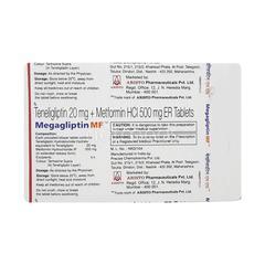 Megagliptin MF 20/500mg Tablet 10'S