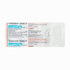 Duopep 40mg Tablet 10'S