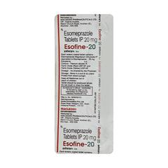 Esofine 20mg Tablet 10'S