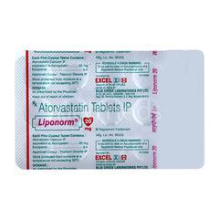 Liponorm 20mg Tablet 15'S