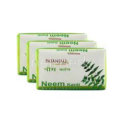 Patanjali Body Cleanser - Neem Kanti (Pack of 3 x 150 gm)