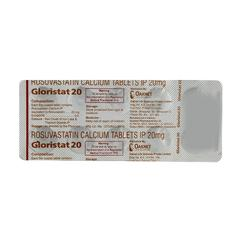 Gloristat 20mg Tablet 10'S