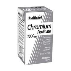 HealthAid Chromium Picolinate 200ug Tablet 60's