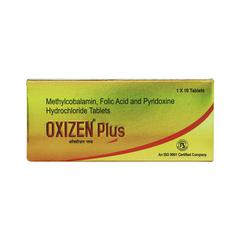 Oxizen Plus Tablet 10'S