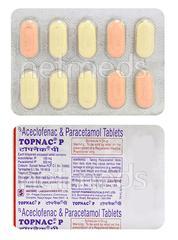 Topnac P Tablet 10'S