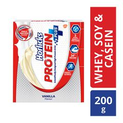 Horlicks Protein Plus Powder - Vanilla Flavour 200 gm (Refill Pack)