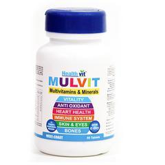 HealthVit Mulvit Multivitamins and Minerals Tablet 60's